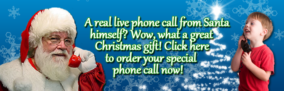 Order Your Phone Call From Santa!
